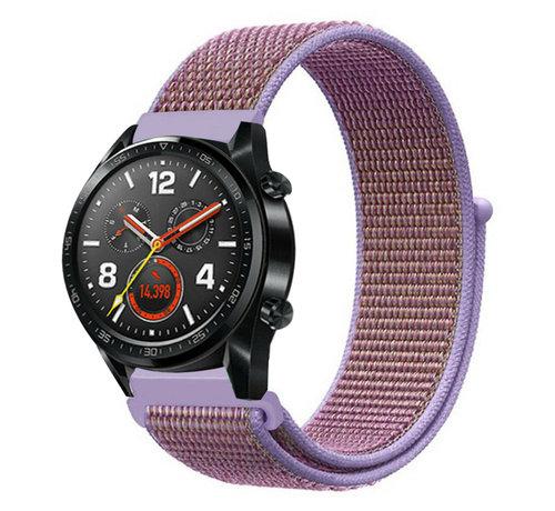 Strap-it® Strap-it® Huawei Watch GT nylon band (lila)