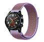 Strap-it® Huawei Watch GT nylon band (lila)