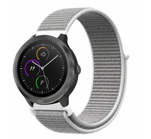Strap-it® Strap-it® Garmin Vivoactive 4 nylon band - 45mm - zeeschelp