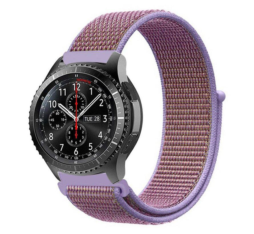 Strap-it® Samsung Galaxy Watch 46mm nylon band (lila)
