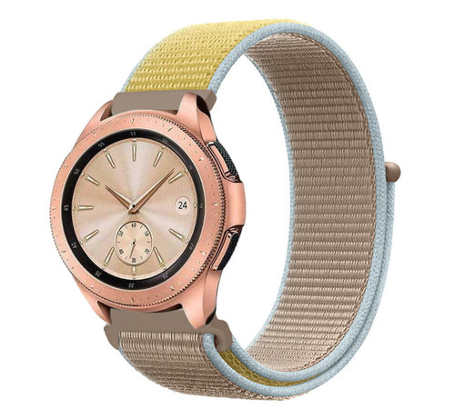 Strap-it® Strap-it® Samsung Galaxy Watch 42mm nylon band (camel)