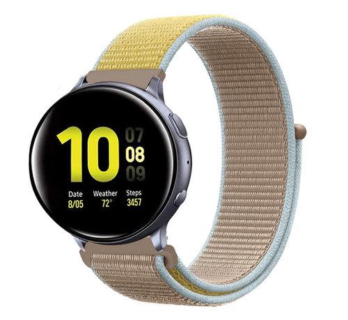 Strap-it® Strap-it® Samsung Galaxy Watch Active nylon band (camel)