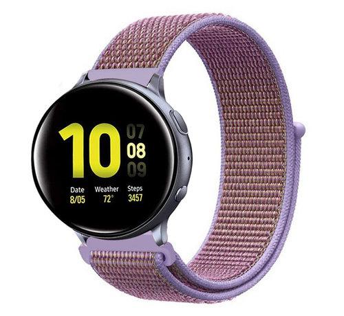 Strap-it® Strap-it® Samsung Galaxy Watch Active nylon band (lila)