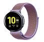 Strap-it® Samsung Galaxy Watch Active nylon band (lila)