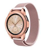 Strap-it® Samsung Galaxy Watch Milanese band 41mm / 42mm (roze)