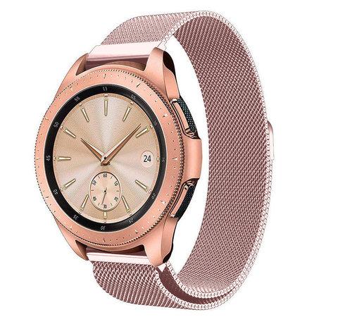 Strap-it® Strap-it® Samsung Galaxy Watch Milanese band 41mm / 42mm (roze)