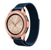 Strap-it® Samsung Galaxy Watch Milanese band 41mm / 42mm (blauw)