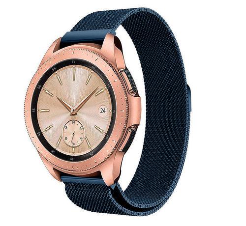 Strap-it® Strap-it® Samsung Galaxy Watch Milanese band 41mm / 42mm (blauw)