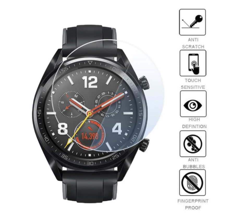 Strap-it® Huawei Watch GT screen protector tempered glass