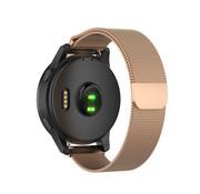 Strap-it® Garmin Venu 2s Milanese band - 40mm - rosé goud