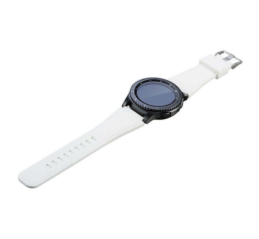 Strap-it® Garmin Venu 2 siliconen bandje - 45mm - wit
