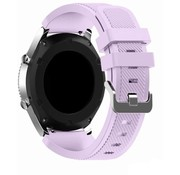 Strap-it® Garmin Venu 2 siliconen bandje - 45mm - lila