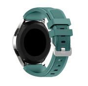 Strap-it® Garmin Venu 2 siliconen bandje - 45mm - dennengroen