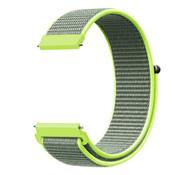 Strap-it® Garmin Venu 2 nylon band - 45mm - fluoriserend