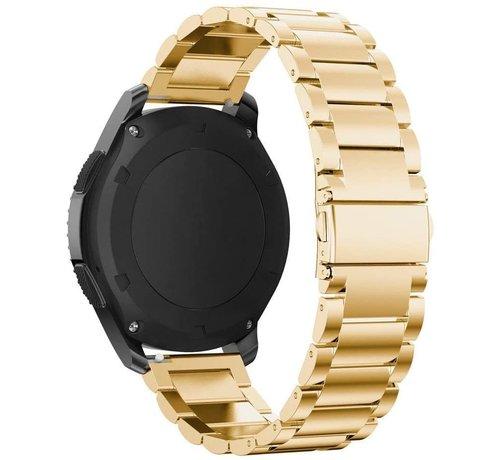 Strap-it® Strap-it® Garmin Venu 2 stalen band - 45mm - goud