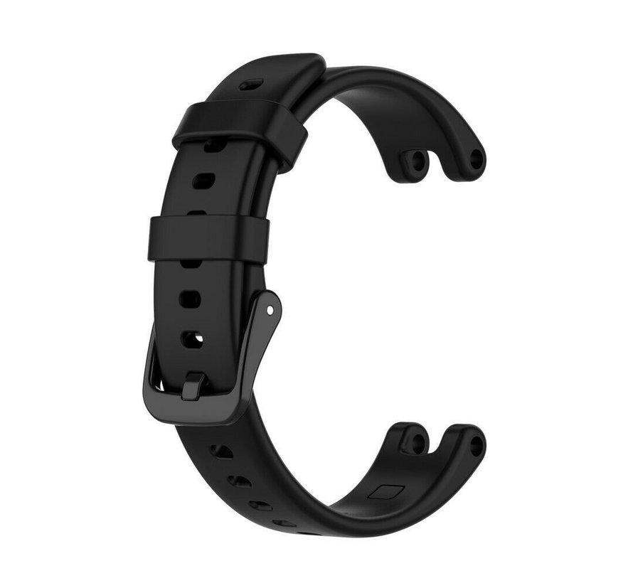 Strap-it® Garmin Lily siliconen bandje (zwart)