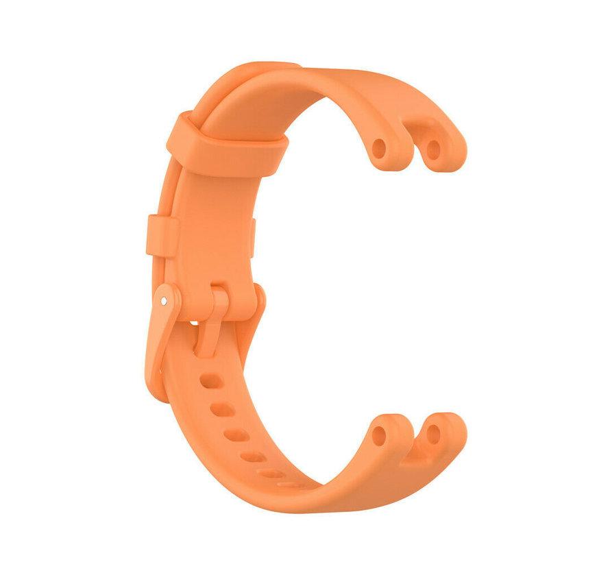 Strap-it® Garmin Lily siliconen bandje (oranje)