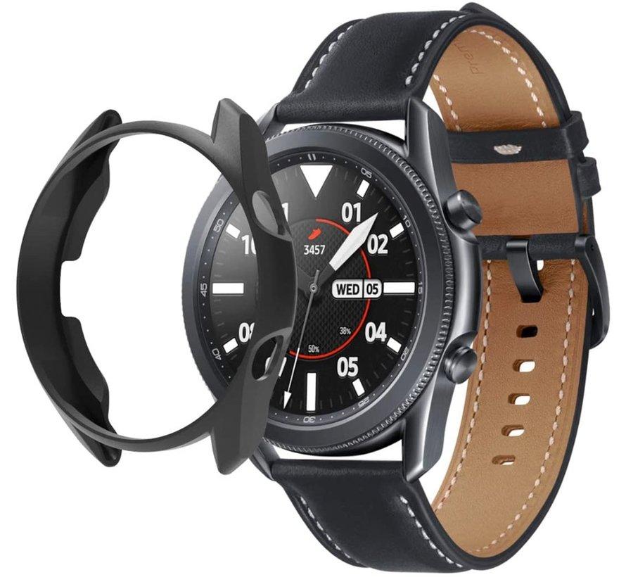 Strap-it® Samsung Galaxy Watch 3 TPU beschermhoes 45mm (zwart)