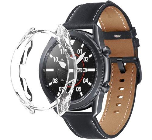 Strap-it® Strap-it® Samsung Galaxy Watch 3 TPU beschermhoes 45mm (transparant)