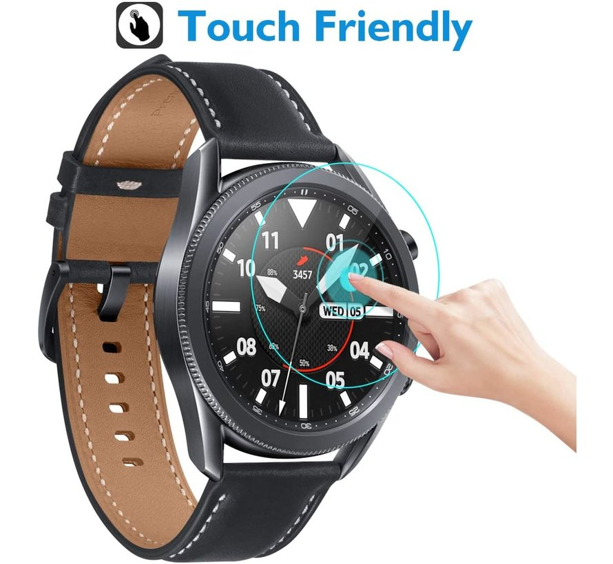 Strap-it® Samsung Galaxy Watch 3 45mm screen protector glas
