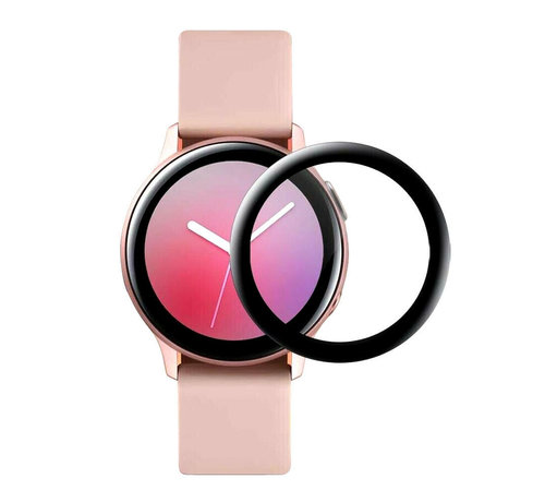 Strap-it® Strap-it® Samsung Galaxy Watch Active 2 40mm full cover screenprotector (glas)