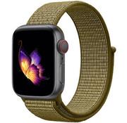 Strap-it® Apple Watch nylon band (olijf)