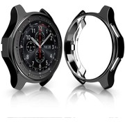 Strap-it® Samsung Gear S3 Classic & Frontier TPU beschermhoes (zwart)
