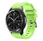Strap-it® Samsung Galaxy Watch siliconen bandje 45mm / 46mm (lichtgroen)