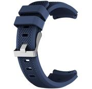 Strap-it® Siliconen horlogeband 20mm - universeel - donkerblauw