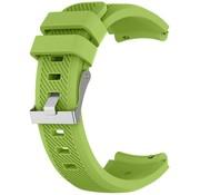 Strap-it® Siliconen horlogeband 20mm - universeel - lichtgroen
