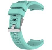 Strap-it® Siliconen horlogeband 20mm - universeel - aqua