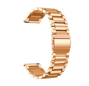 Strap-it® Stalen horlogeband 20mm - universeel - rosé goud