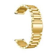 Strap-it® Stalen horlogeband 20mm - universeel - goud