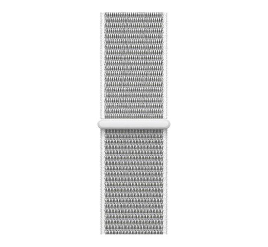 Strap-it® Nylon horlogeband 20mm - universeel - zeeschelp