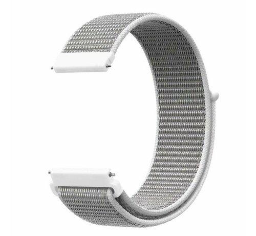 Strap-it® Strap-it® Nylon horlogeband 20mm - universeel - zeeschelp