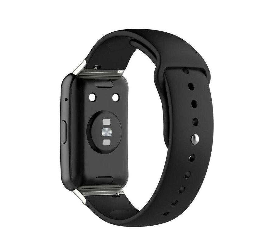 Strap-it® Huawei Watch Fit sport bandje (zwart)