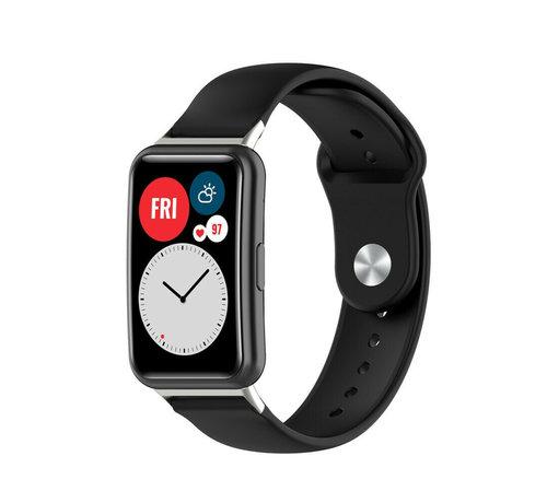 Strap-it® Strap-it® Huawei Watch Fit sport bandje (zwart)