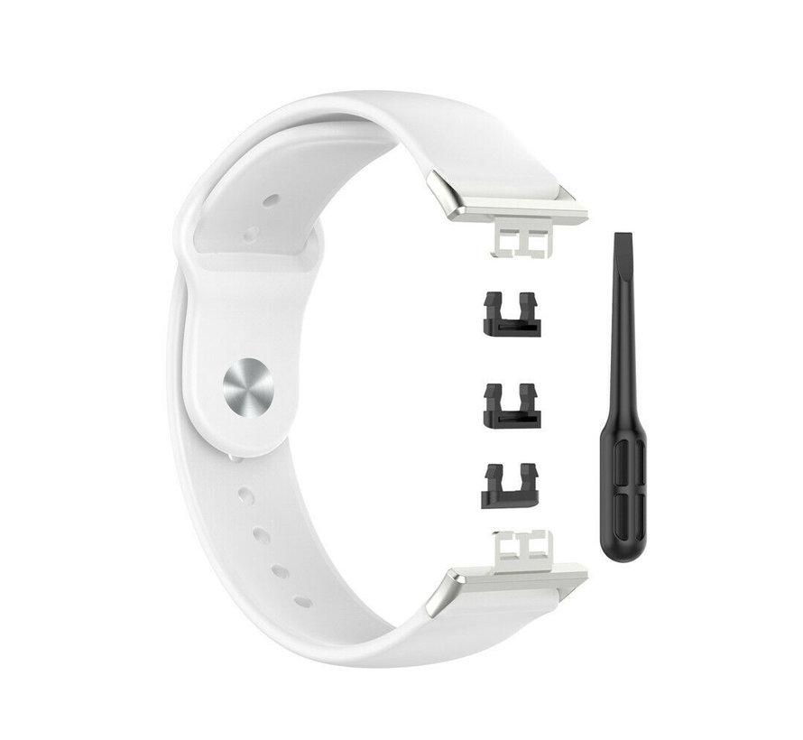 Strap-it® Huawei Watch Fit sport bandje (wit)