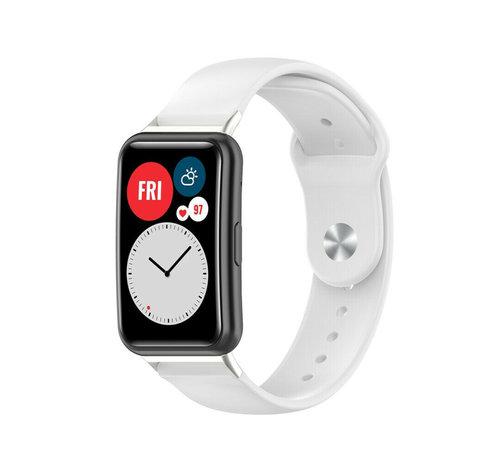 Strap-it® Strap-it® Huawei Watch Fit sport bandje (wit)