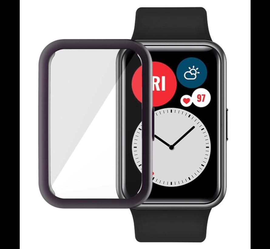 Strap-it® Huawei Watch Fit TPU beschermhoes (zwart)
