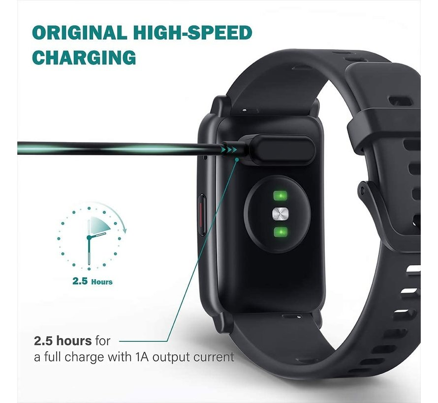 Strap-it® Huawei Watch Fit oplader / oplaadkabel USB