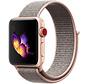 Strap-it® Apple Watch nylon bandje (pink sand)