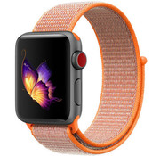 Strap-it® Apple Watch nylon band (oranje)