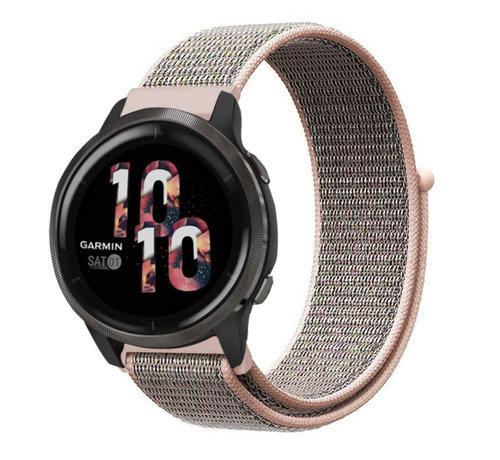 Strap-it® Strap-it® Garmin Venu 2 nylon band - 45mm - pink sand