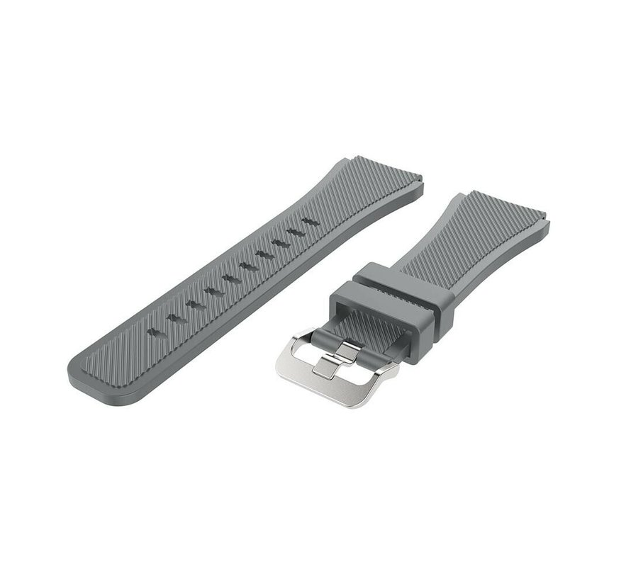 Strap-it® Garmin Vivoactive 3 siliconen bandje (grijs)