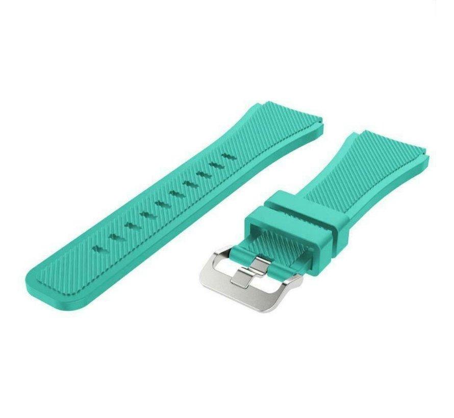 Strap-it® Garmin Vivoactive 3 siliconen bandje (aqua)