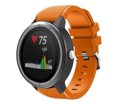 Strap-it® Strap-it® Garmin Vivoactive 3 siliconen bandje (oranje)
