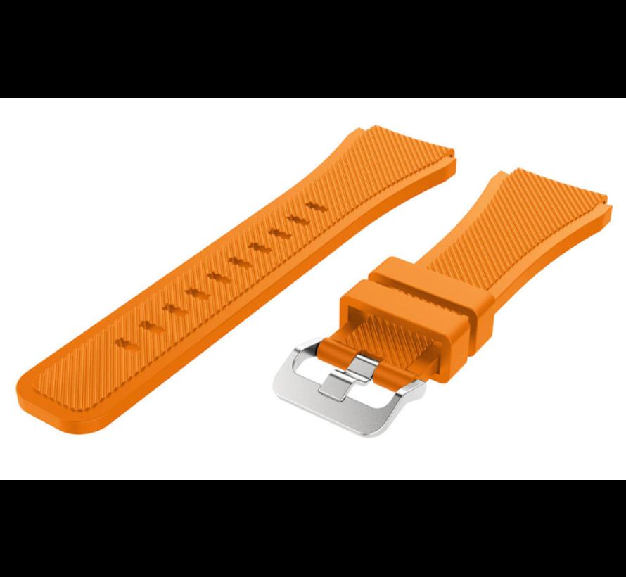 Strap-it® Garmin Vivoactive 3 siliconen bandje (oranje)