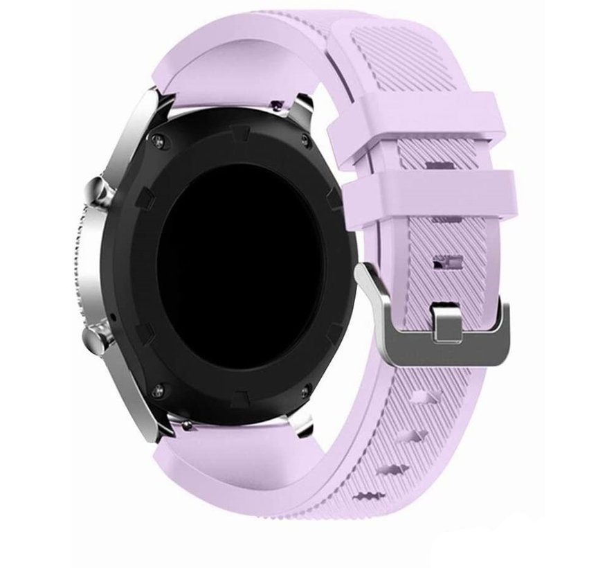 Strap-it® Garmin Vivoactive 3 siliconen bandje (lila)
