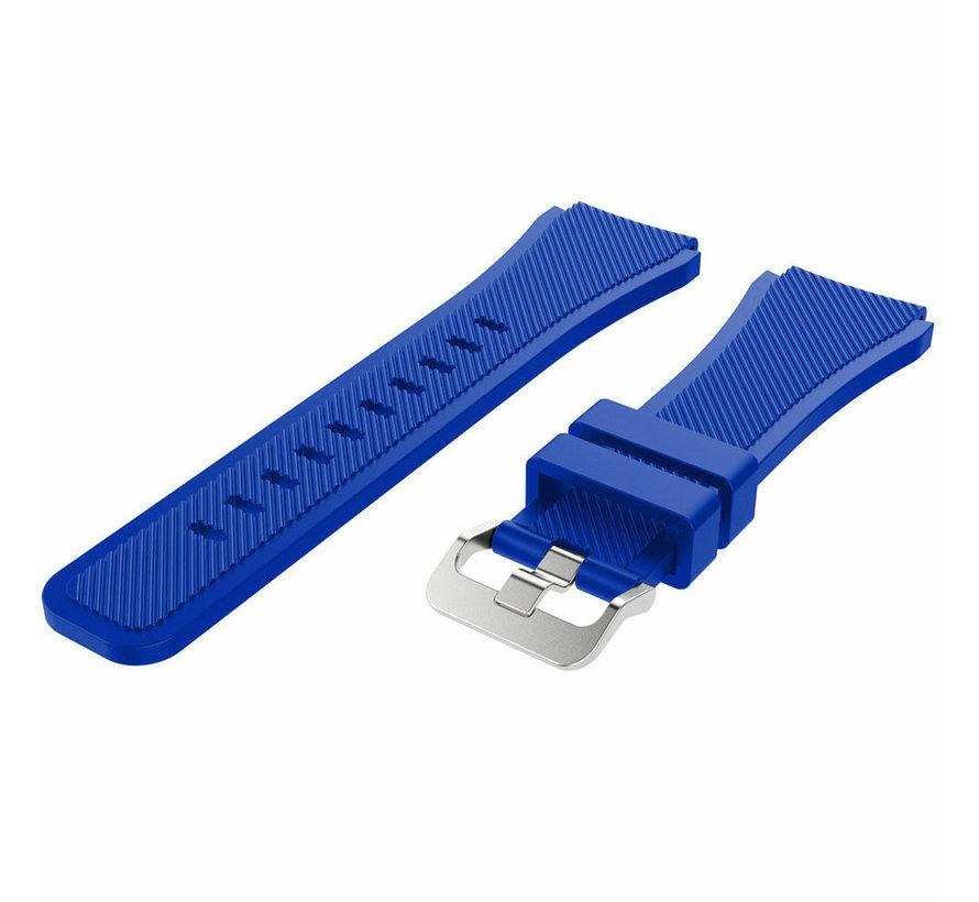 Strap-it® Garmin Vivoactive 3 siliconen bandje (blauw)